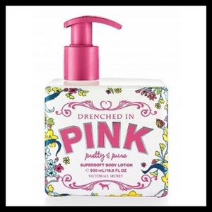 Victoria's Secret Drenched in Pink Body Lotion
